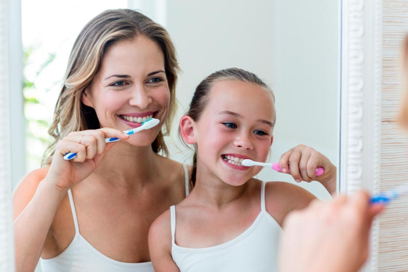 técnicas de higiene oral para cepillar con eficacia